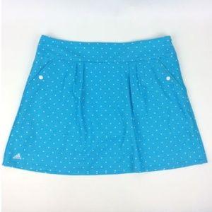 Adidas Climacool Blue Golf Tennis Skort Sz 14
